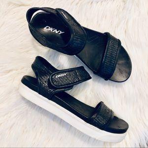 DKNY Platform Sandals
